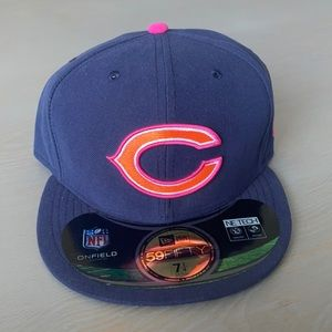 New Era NFL Chicago Bears Crucial Catch Fitted Hat